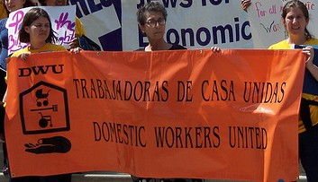 Domestic Workers Organize for Workers Bill of Rights; MUA 20th Anniversary in San Francisco, May 27th